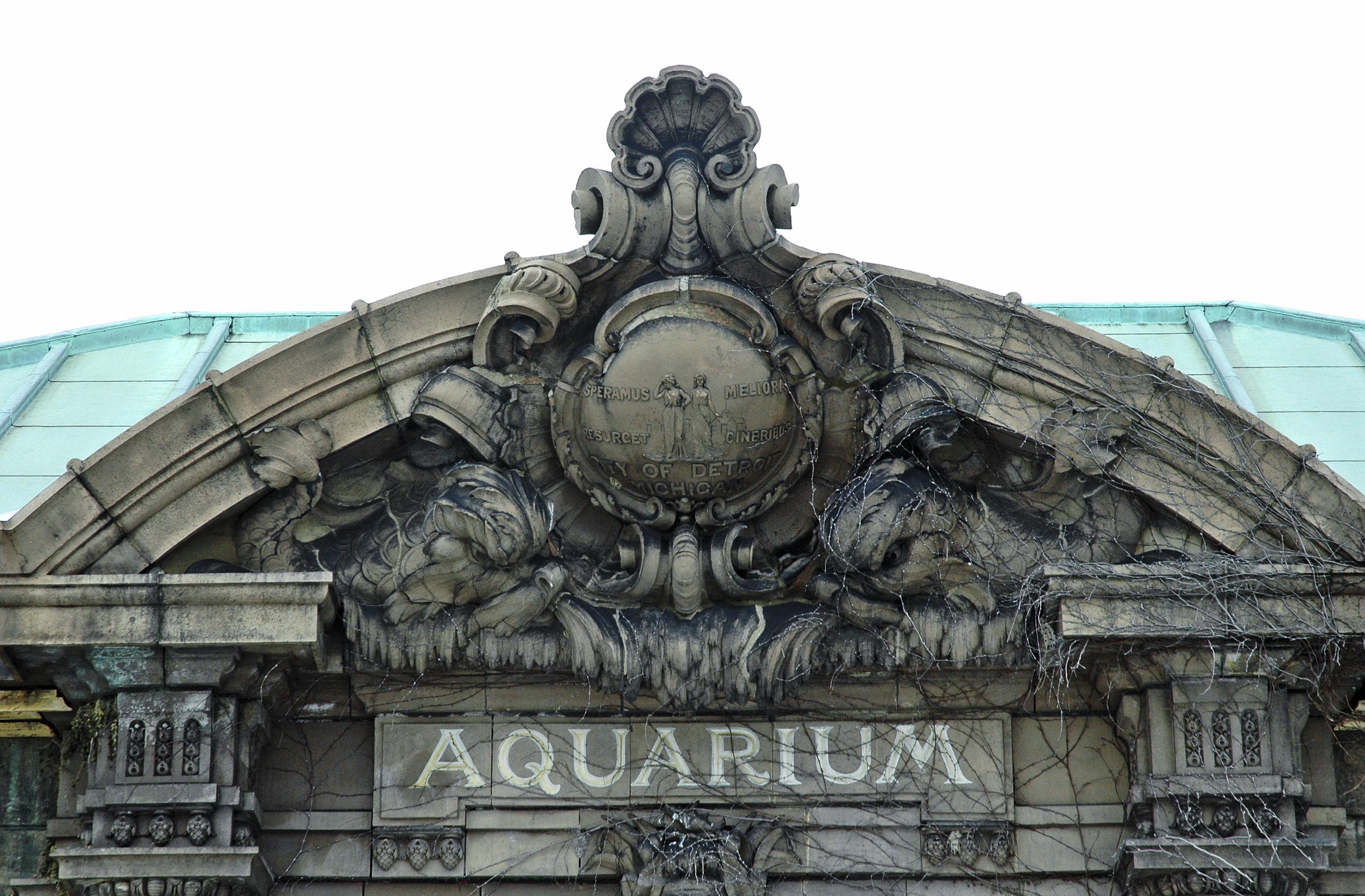 Detroit bikeblog cycling the renaissance city for Aquarium plat